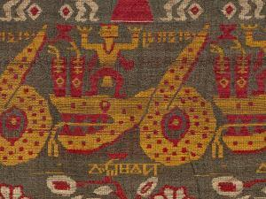 Motifs from the Vindravani Vastra textile, © Chepstow Museum