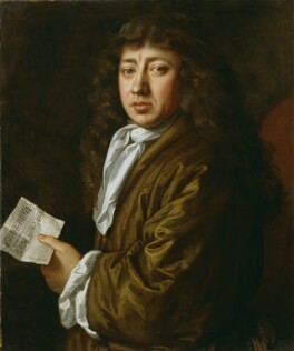 Samuel Pepys wearing his banyan, painting by John Hayls (1666), © National Portrait Gallery, London