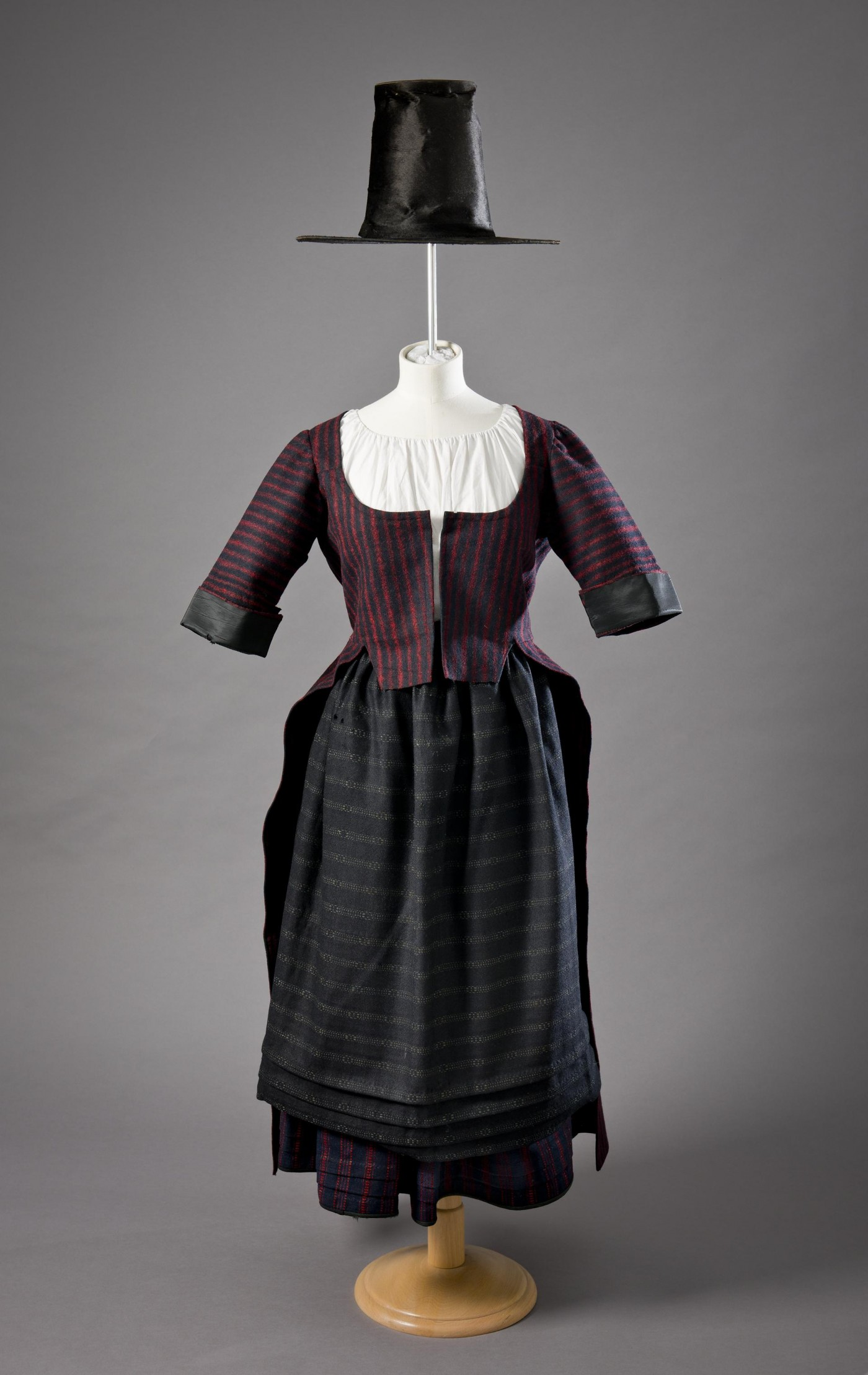 5:Bedgown. Image courtesy of St Fagans National Museum Wales. F69.14.1