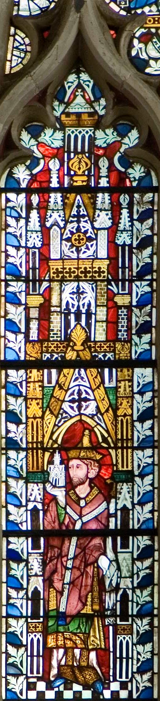 The St Peter window, Exeter Cathedral