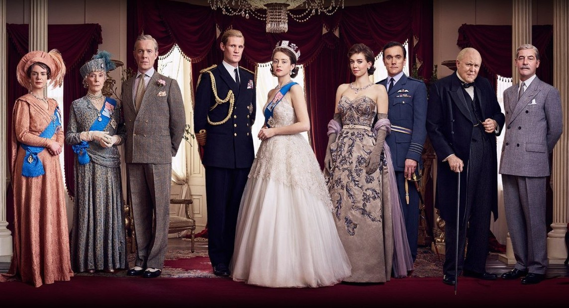 The cast of The Crown: Season Two, dressed by designer Jane Petrie.