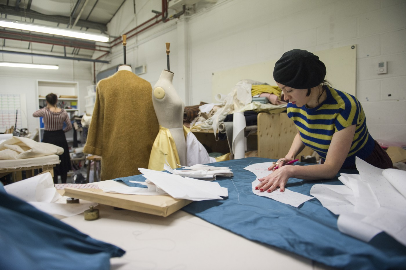 Inside the busy studio where the costumes are created.