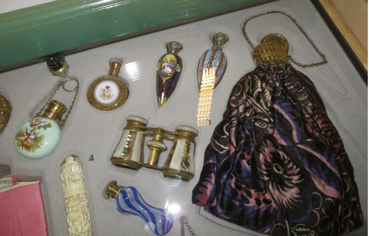 Some fashion accessories at Norwich Museum