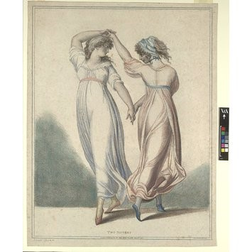 Marie Taglioni in Flore et Zéphire, 1831,     © Victoria and Albert Museum, London.    E.5055-1968.    http://collections.vam.ac.uk/item/O106156/prin