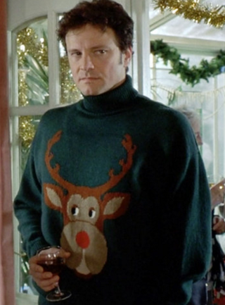 2. Colin Firth as Mark Darcy in 'Bridget Jones's Diary' (2001).